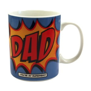 Hrnek Comic Book Dad, 325 ml
