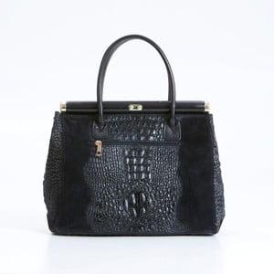 Černá kožená kabelka Pia Sassi Florence