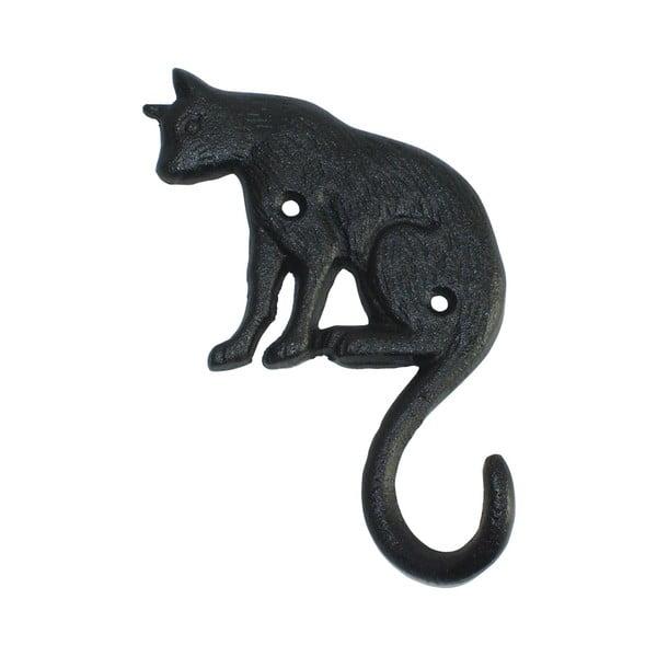 Litinový nástěnný háček Esschert Design Cat