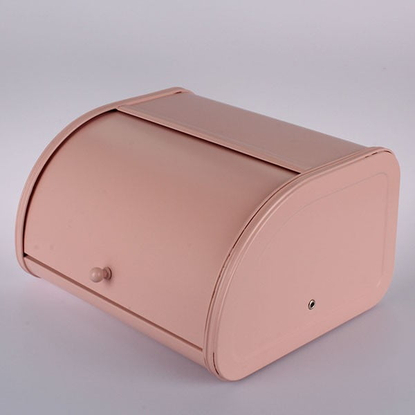 Plechový chlebník Pink
