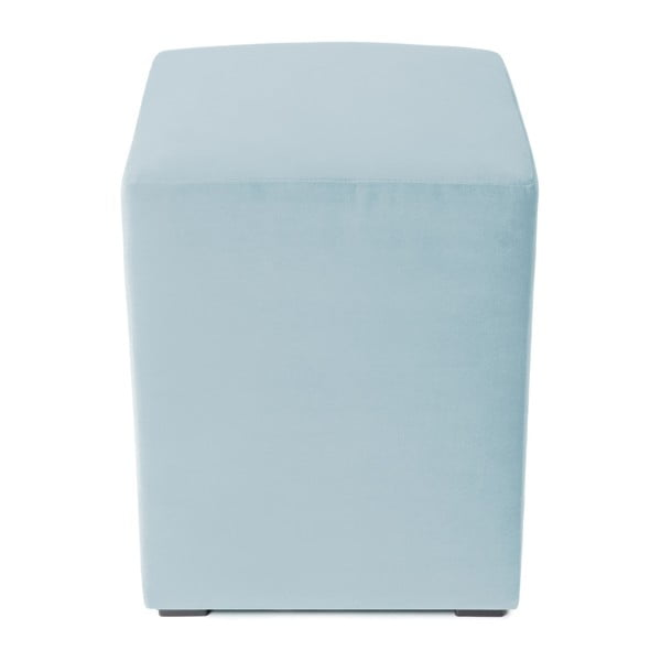 Světle modrý puf Vivonita Gisele