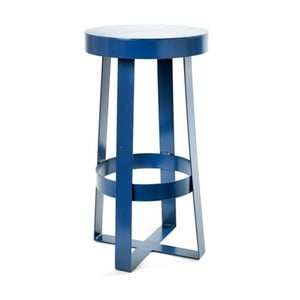 Modrá stolička Serax Snello
