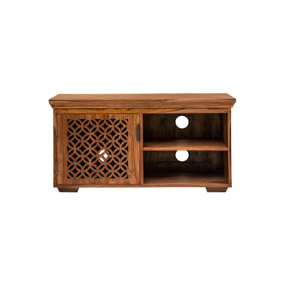TV stolek z palisandrového dřeva Massive Home Rosie