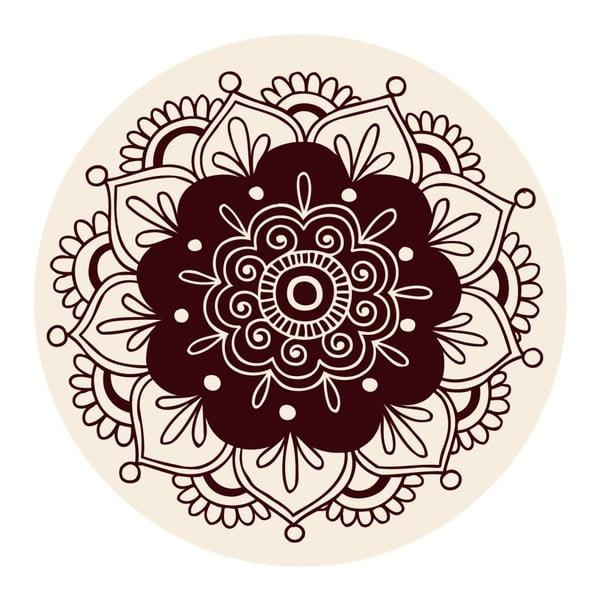 Samolepky Mandala Brown