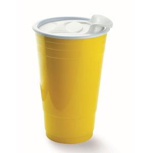 Hrnek Fun Party Cup, žlutý
