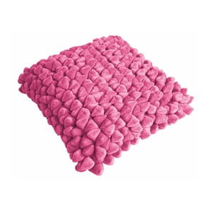 Tmavě růžový polštář ZicZac Pebble, 45x45cm