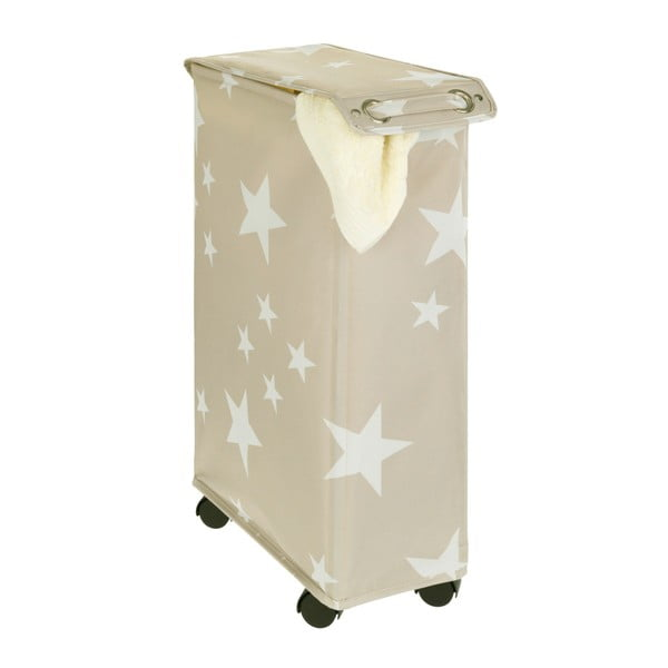 Béžový koš na prádlo Wenko Corno Star, 44,4 l