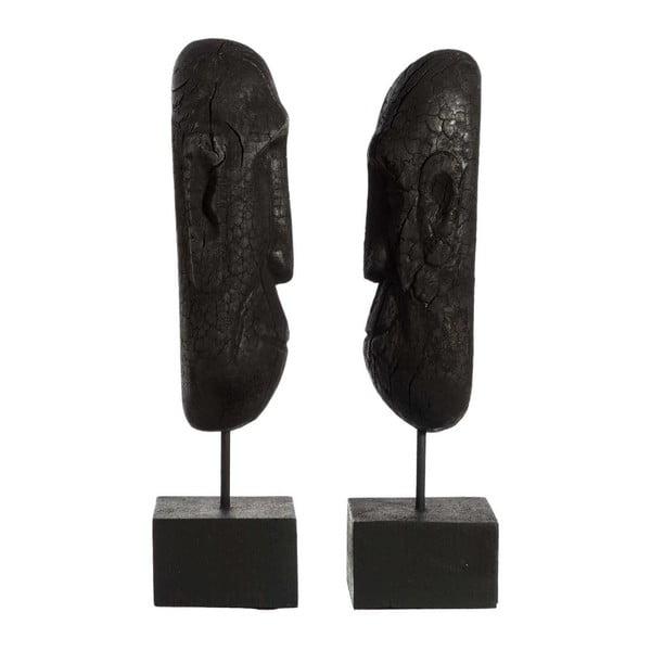 Sada 2 dekorativních sošek z mangového dřeva Denzzo Jarita