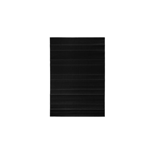 Koberec vhodný i na ven Sunshine 80x150 cm, černý