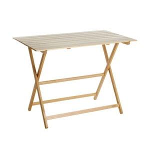 Skládací stůl z bukového dřeva Valdomo Excelsior, 60x10cm