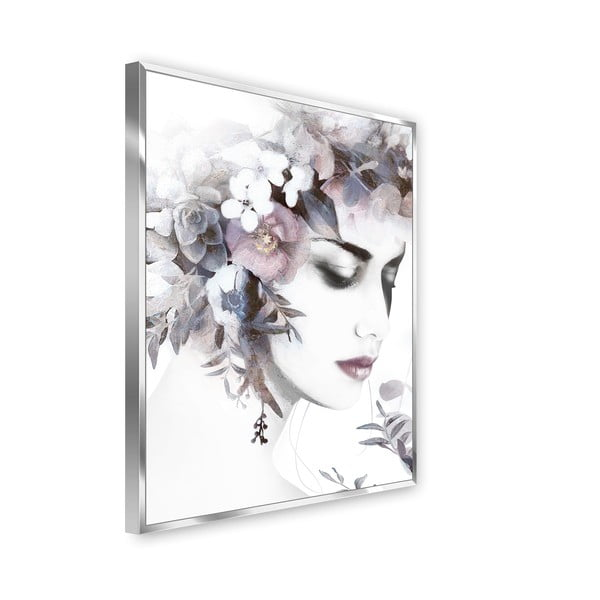 Tablou imprimat pe pânză Styler Flower Crown, 62 x 82 cm