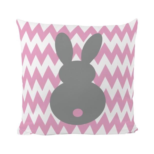 Polštář Bunny Two, 50x50 cm