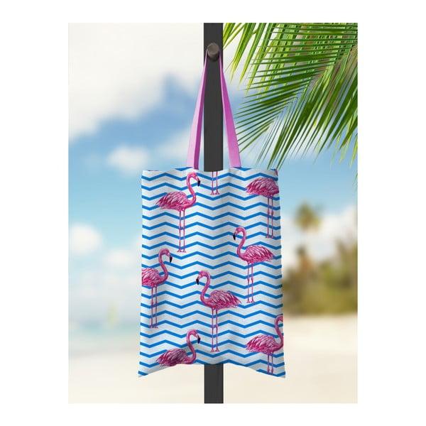 Geantă de plajă Kate Louise Parade Flamingo
