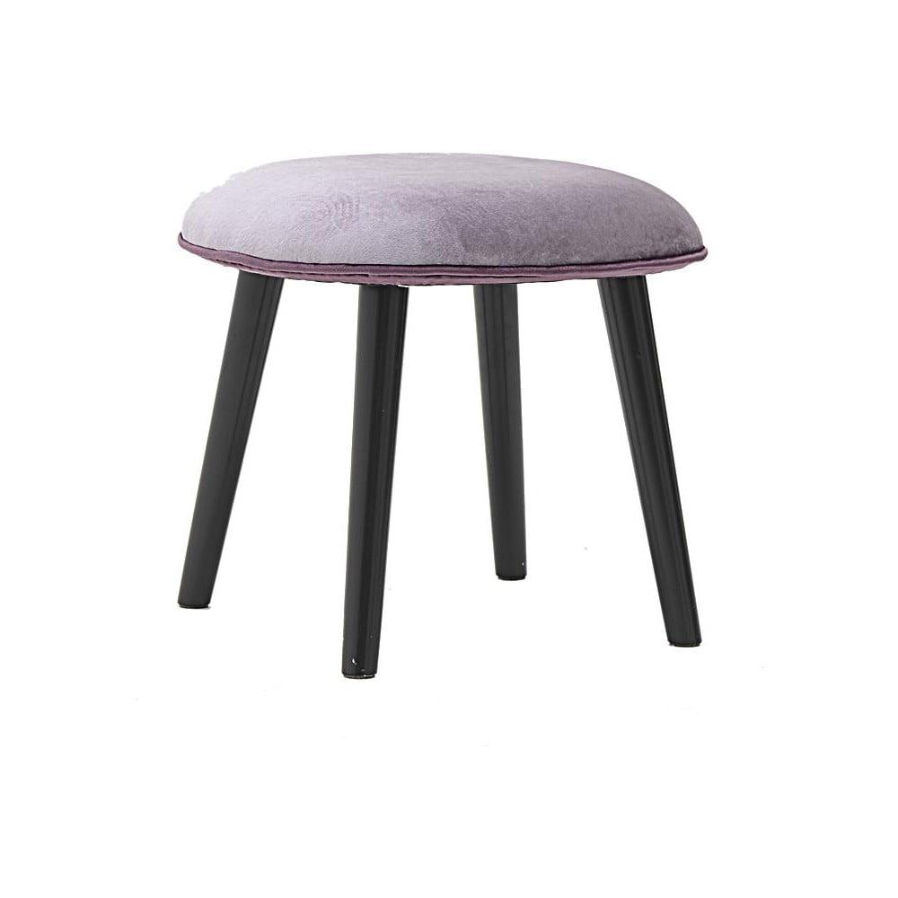 Černofialová stolička InArt Pagnura