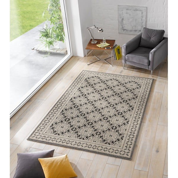 Šedý koberec Chateau Marble, 120x170 cm