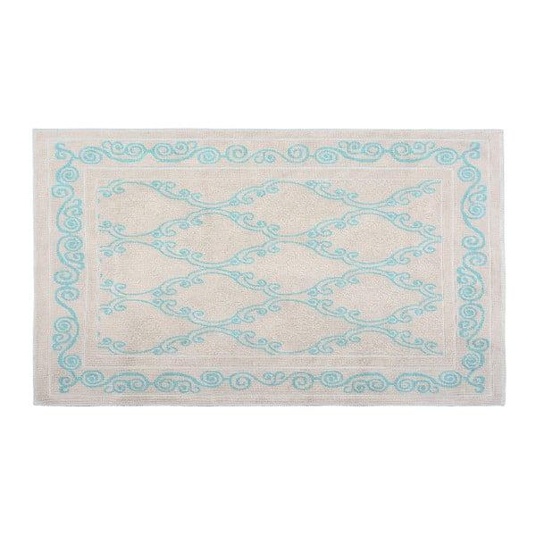 Bavlněný koberec Gina 120x180 cm, tyrkysový