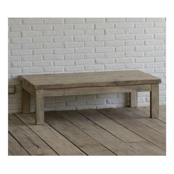 Stolek z recyklovaného dřeva Old Wood, 75x130 cm
