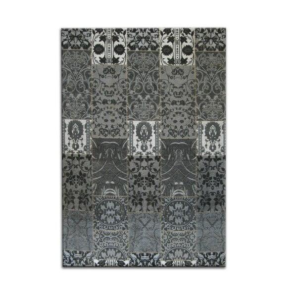 Antracitový koberec OVERSEAS Seattle,160x230cm