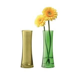 Coro Green vázy, sada 2 ks