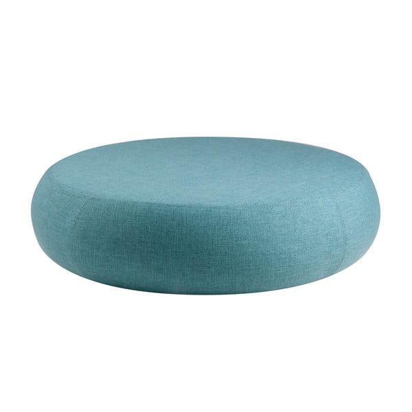 Niebieski puf sømcasa Alex, ø 100 cm