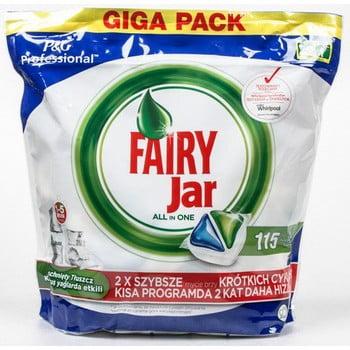 Detergent capsule pentru mașina de spălat vase Jar expert, 115 buc. imagine