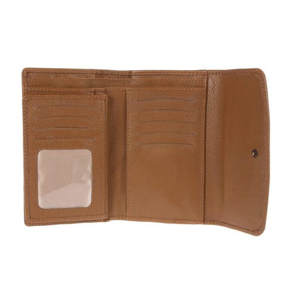 Dámská kožená peněženka Stroud Finest Natural Oak