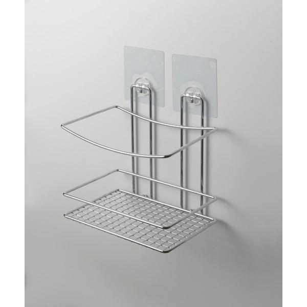 Nástěnná polička do sprchy bez nutnosti vrtání Compactor Shower