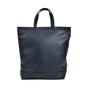 Tmavě modrá kožená kabelka Isabella Rhea Filippo