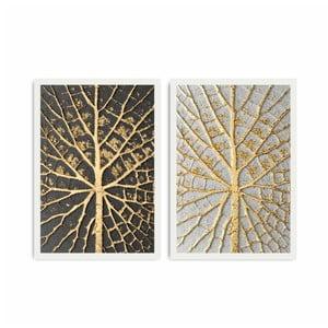 Dvoudílný obraz Home Leaves, 72x50 cm