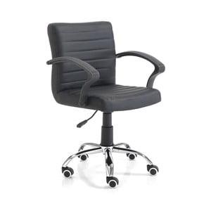 Černá kancelářská židle Tomasucci Pany