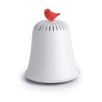 Pușculiță Qualy&CO Saved The Bell, alb - roșu