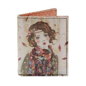 Peněženka na karty a vizitky Santoro London Willow Souvenir D´Hiver