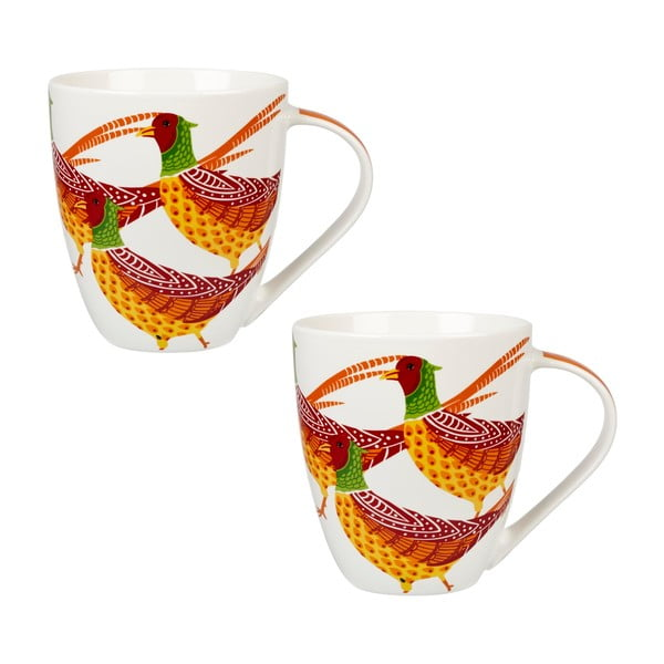 Sada 2 hrnků Churchill China Pheasants, 500 ml