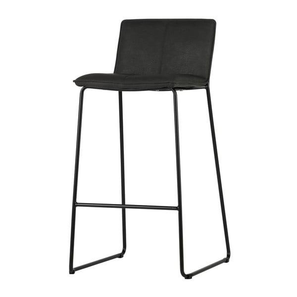 Sada 2 černých barových židlí De Eekhoorn Evan