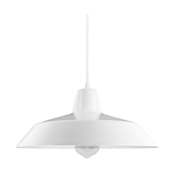 Bílé závěsné svítidlo Bulb Attack Cinco