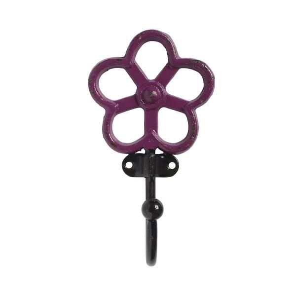 Háček Flower, růžový