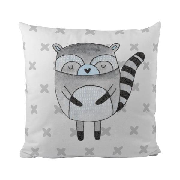 Polštář Blue Raccoon, 50x50 cm