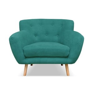 Zelenomodré křeslo Cosmopolitan design London