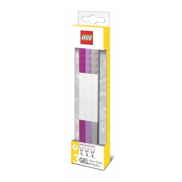 Sada 3 gélových pier LEGO®