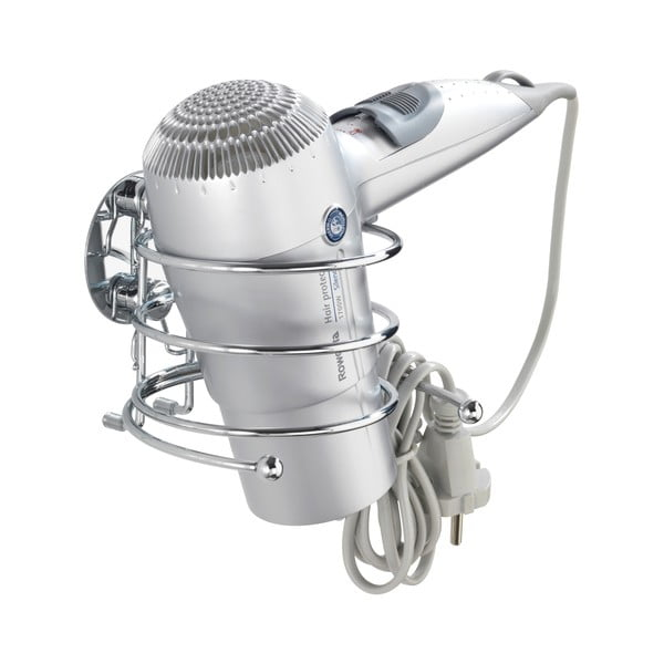 Samodržící věšák na fén Wenko Turbo-Loc, nosnost až 40 kg