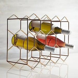 Stojan na lahve ve zlaté barvě Masivworks Polygono Bee
