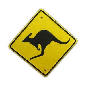 Cedule na stěnu Kangaroo