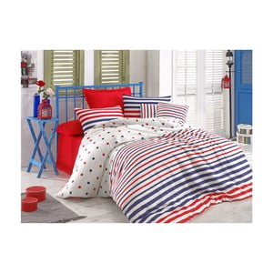 Lenjerie de pat cu cearșaf Clup, 200 x 220 cm