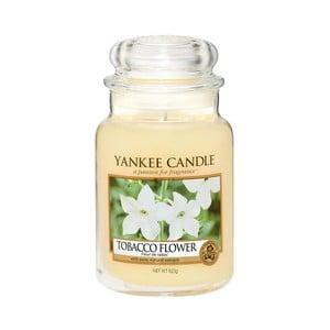 Vonná svíčka Yankee Candle Tabákový květ, doba hoření 110 - 150 hodin