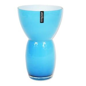 Skleněná váza Fornio, modrá