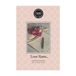 Vonný sáček s vůní bergamotu, růže, ořechl a pačuli Creative Tops Love Notes