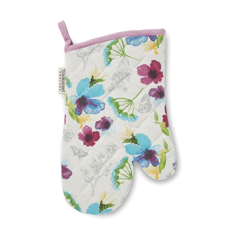 Kuchyňská chňapka z bavlny Cooksmart England Chatsworth Florals