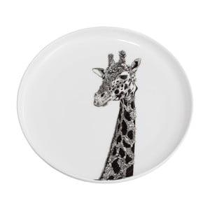 Dezertní talířek z kostního porcelánu Maxwell&Williams Marini Ferlazzo Africa Giraffe, ⌀ 20 cm