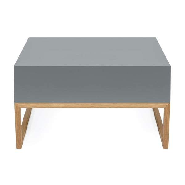 Šedý konferenční stolek Woodman Cubis