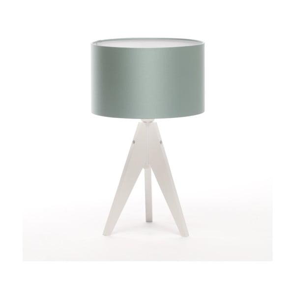 Stolní lampa Artista White/Light Green Blue, 28 cm